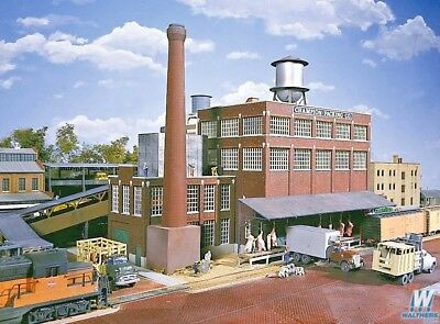 Walthers Champion meat Packing Plant -- Kit - 933-3048 HO Model Trains