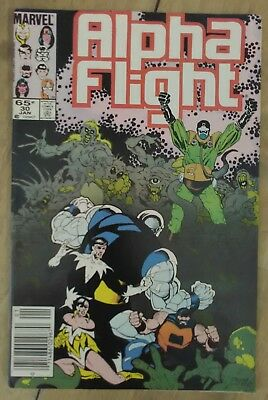 Alpha Flight #30 1986 VF+ Marvel Comics Mike Mignola Bill Mantlo P&P Discount