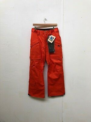 1c94a3a8848f1 VANS MEN'S MYLAN Insulated Snowboarding Cargo Pants - Small - Grey ...