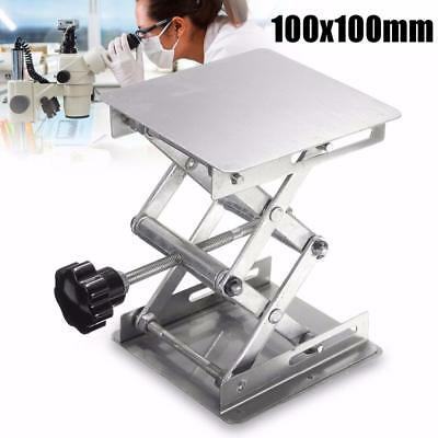 "4"" Stainless Steel Lift Countertop Lifting Platform Lab Laboratory Bench Table"