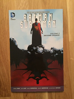 "DC Comics US: BATMAN / SUPERMAN Vol 3 ""Second Chance"" - Paperback 2015"