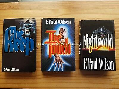 The Keep, The Touch, Nightworld by Wilson, F. Paul hardback Books