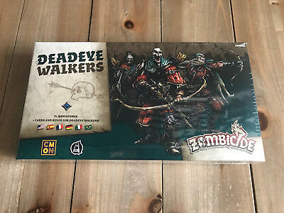 ZOMBICIDE - DEADEYE WALKERS - EDGE - CMON - juego de mesa - BLACK PLAGUE