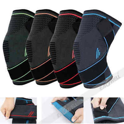 1PC Gym Sports Adjustable Knee Support Bandage Brace Guard Wrap Patella Sleeve