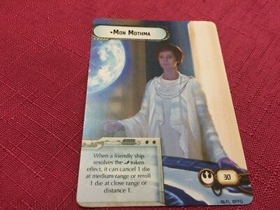 Star Wars Armada Promo Card - Mon Mothma