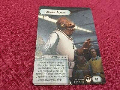 Star Wars Armada Promo Card - Akbar