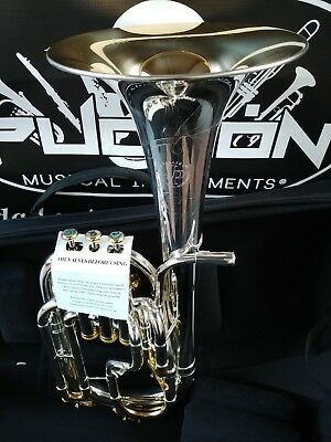 New Edition:John Packer 272 Gold & Silver Engraved Eb Alto Horn-Professional