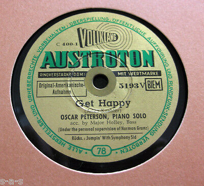 Nice Price: Oscar Peterson - Get Happy / Jumpin' With Symphony Sid AUSTROTON