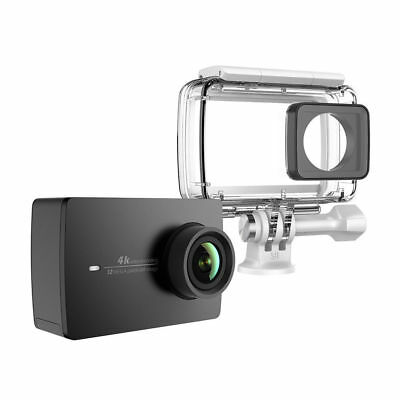 New Yi (official) 4K Action Camera, Black,2 inch Touchscreen with WaterproofCase