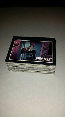 1991 Impel Star Trek 25th Anniversary Trading Cards - Lot of 75 cards