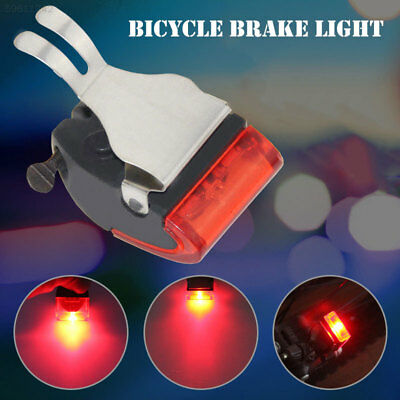 3A36 LED Bicycle Bicycle Taillights Bicycle Brake Light Red Black ABS
