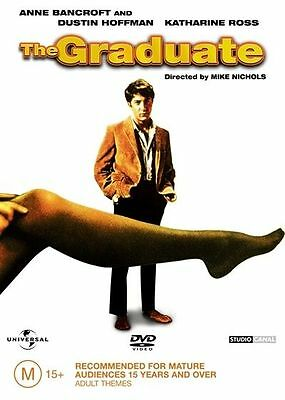 The Graduate (DVD, 2004) Brand New & Sealed, Region: 4