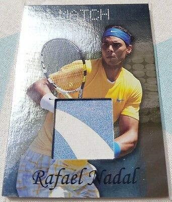 Rafael NADAL Ace Authentic MATCH Memorabilia Jersey Blue/White Variant card RM1