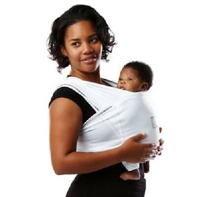 Baby K'tan BREEZE Baby Carrier White X-Large