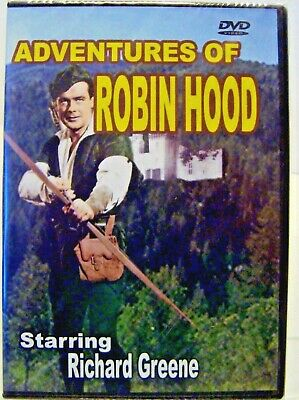 Adventures of Robin Hood (DVD) FACTORY SEALED BRAND NEW, Richard Greene
