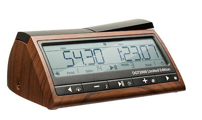 Digital Chess Timer WOODEN look - DGT 3000 LIMITED Edition / clock - NEW