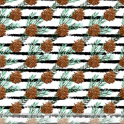 """Pine Cone Stripe - Home Decor Fabric Polyester 62"""" W Sold by the Yard"""