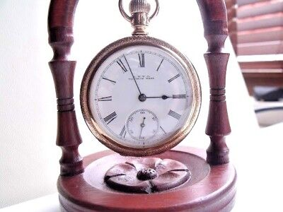Antique  Gold Fill Waltham   Pocket Watch  1895  Beautiful Condition  Fwo