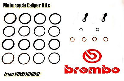 Aprilia RSV 1000 Mille Brembo front brake caliper seal kit  2001 2002 2003