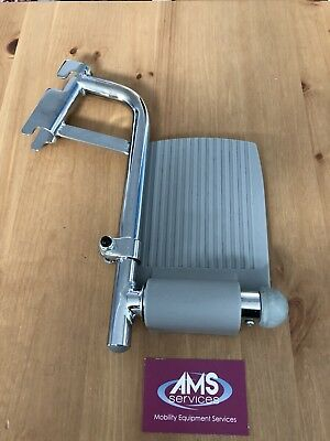 Roma Medical & Homecraft Shower / Commode Chair Chrome Right Footrest  - Parts