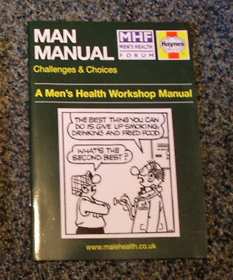 Man Manual 2009 - Men's Health Workshop Manual - Features Andy Capp On Cover