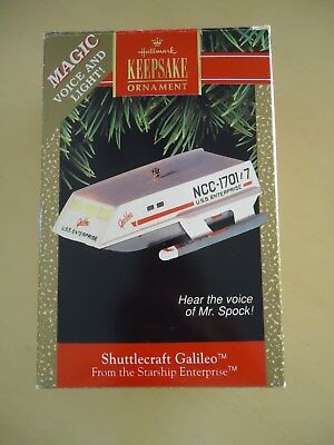 Star Trek Hallmark Ornament Galileo USS Enterprise NCC-1701