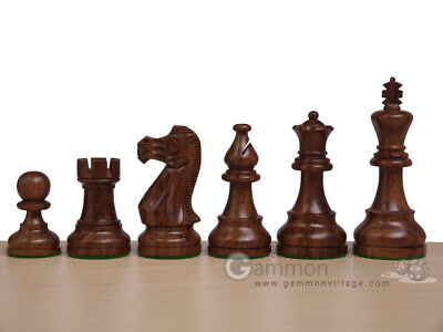 *NEW* Grand Marquis Classic 3x Weighted Staunton Chess Pieces - Sheesham Wood