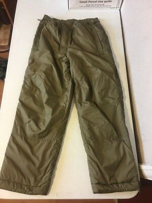 British Army latest Issue PCS Thermal Trousers. Large Size. Softie! BNNT