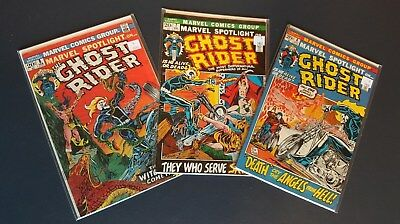 Marvel Spotlight Isues #6-8 GHOST RIDER FN/VF