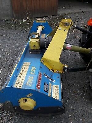 Used 1.3 Zanon Flail Mower. Suit Compact Tractors