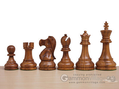 *NEW* Elite Series Classic 3x Weighted Staunton Chess Pieces - Sheesham Wood