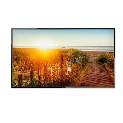 """NEC E436 43"""" LED Backlit Display with Integrated ATSC/NTSC Tuner"""