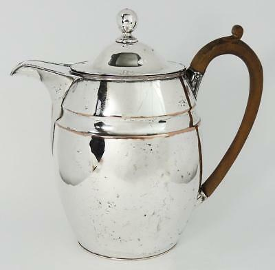 19th Century VICTORIAN SILVER PLATE COFFEE POT