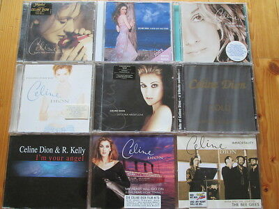 Celine Dion - 6 CDs und 3 Maxi CDs - Sammlung - Christmas, Falling into, Gold