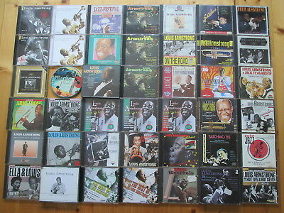 Louis Armstrong - 45 CDs - Sammlung  - Satchmo - Wonderful World, Hello Dolly..