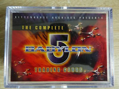 Babylon 5 Complete (Rittenhouse) - Complete Base Trading Card Set (120 Cards)