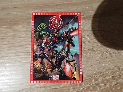 "2013 Upper Deck Marvel Now! #112-SC ""Avengers"" #1"
