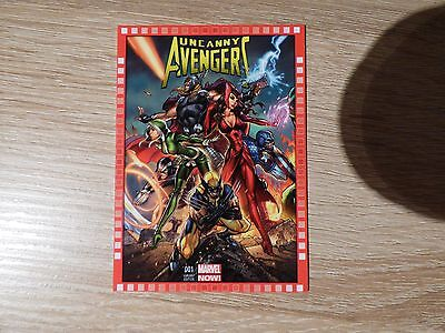 2013 Upper Deck Marvel Now! #101-SC Uncanny Avengers #1