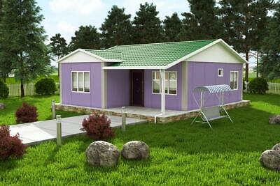 Prefab SIP House Kit - Modular 68 sqm