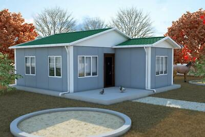 Prefab SIP House Kit - Modular 49 sqm