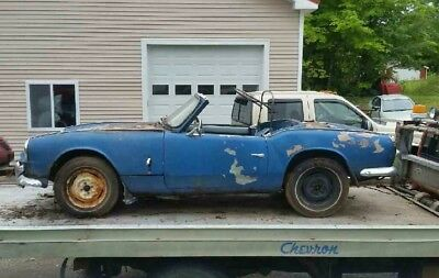 1965 triumph spitfire ready to be restored