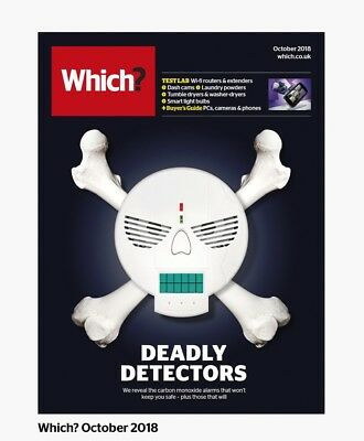 Which Magazine October 2018: Wi Fi Routers: Dash Cams: Buyers Guide: Phones