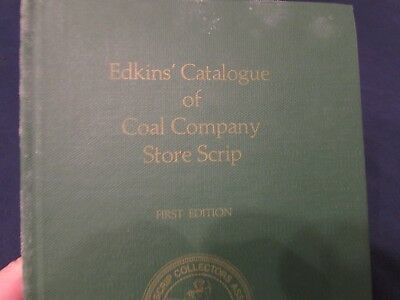 Tuff!! 1972 Edkin's Coal Company Store Scrip!! First Edition!  Must See!!