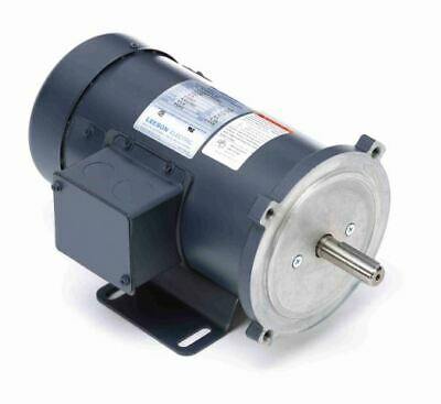 1/2 hp 2500 RPM 90 Volts DC 56C Frame TEFC Leeson Electric Motor # 098006