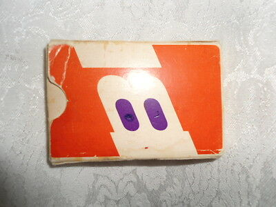 Vintage Braniff Airlines Playing Cards