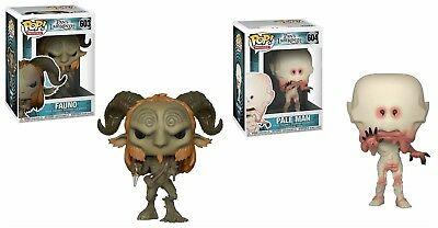 Funko Pop Movies Pan's Labyrinth Set Of 2 Figures Pale Man And Fauno New In Box