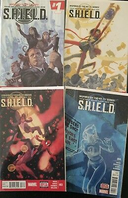 Marvel Agents of SHIELD Lot (17 Comics) SHIELD, Ghost Rider
