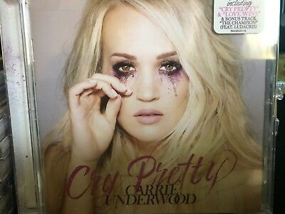 CARRIE UNDERWOOD Cry Pretty CD FREE SHIPPING New Release Country Music