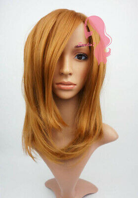 W110 Ginger Mid Length Straight Wig