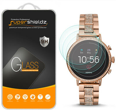 3X Supershieldz Tempered Glass Screen Protector for Fossil Q Venture HR (Gen 4)